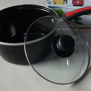 ➙ Nồi nấu sữa/nước sốt tráng men chống dính đa năng kích thước 4020 20cm