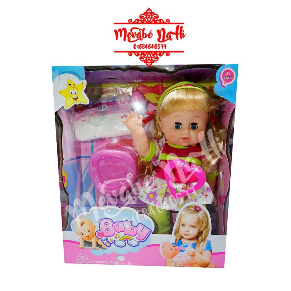 Búp bê Baby Doll mái ngang nơ: Biết nói, khóc, cười, uống nước, đi vệ sinh, mắt nhắm mở được, da mặt - 2469134 , 456367685 , 322_456367685 , 365000 , Bup-be-Baby-Doll-mai-ngang-no-Biet-noi-khoc-cuoi-uong-nuoc-di-ve-sinh-mat-nham-mo-duoc-da-mat-322_456367685 , shopee.vn , Búp bê Baby Doll mái ngang nơ: Biết nói, khóc, cười, uống nước, đi vệ sinh, mắt n