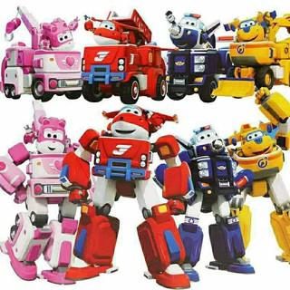 Bộ Đồ Chơi Robot Siêu Thú Vị Dành Cho Các Bé