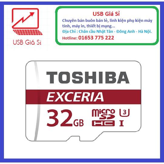 THẺ NHỚ 32GB TOSHIBA EXCERIA MICRO SDHC CLASS 10 48MB/S