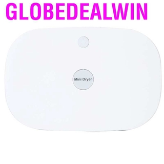Globedealwin Portable Mini Clothes Dryer Box Underwear Drying Machine for Home Travel US Plug 110‑120V