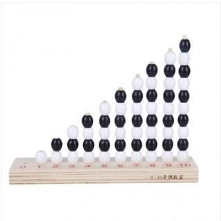 Giáo cụ Montessori Cột tính chẵn lẻ hỗ trợ toán học