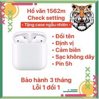 1562M CHECK SETTING Hổ Vằn [1562M] Tai Nghe Blutooth tws Cao Cấp Đổi Tên & Định Vị Bảo Hành 3 Thang thumbnail
