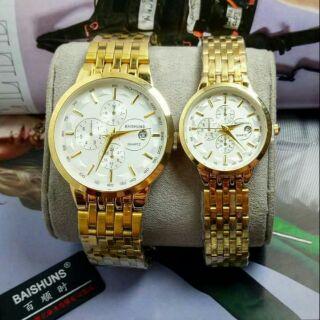 đồng hồ đôi Baishun chính hãng hàn quốc thumbnail