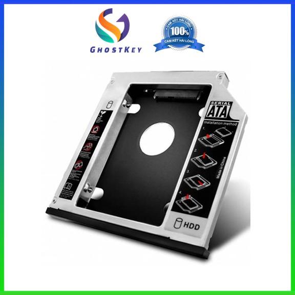 Bảng giá Carddy Bay HDD 9.5mm/12.7mm - Khay lắp ổ cứng SSD cho laptop qua khay DVD Phong Vũ