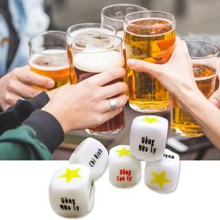 Xí ngầu uống bia tiếng Việt chơi ăn nhậu uống bia vui nhộn,1 viên xí ngầu ăn chơi uống cực kỳ vui nhộn – Winz.vn