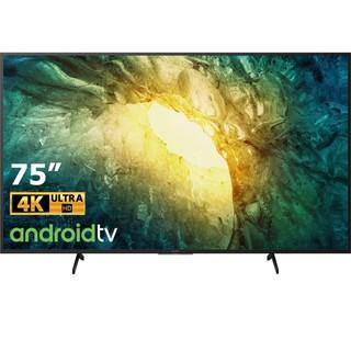 Android Tivi Sony 4K 75 Inch Màn Hình Siêu Mỏng Tràn Viền Tinh Tế 75X8050H