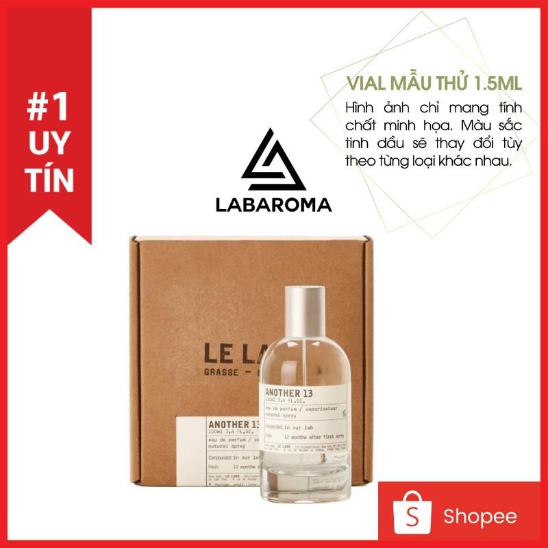 Tinh dầu nước hoa Niche cao cấp thơm phòng, khử mùi, tạo hương cho shop vial 1.5ml Hàng nhập khẩu Anh