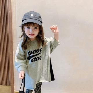 Đầm Công Chúa Tay Dài Thời Trang Mùa Thu 2020 Phong Cách Hàn Quốc Cho Nữ Size 140