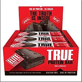 Sản phẩm bổ sung năng lượng- Elite Labs True Bar Triple Chocolate ( Hộp 12 thanh)