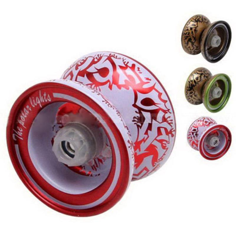 Aluminum Alloy YoYo Ball Bearing String Kids Professional Playing Toy Xmas Toy