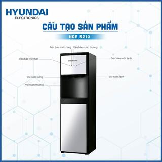 Cây Nước Nóng lạnh Úp Bình Hyundai HDE5210- Dung Tích Bình Nóng 5L.