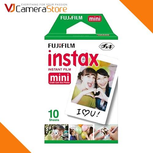 Film cho máy ảnh Fujifilm Instax Mini chính hãng (hộp 10 tấm) - Độ bền lên tới 40 năm - Chính Hãng