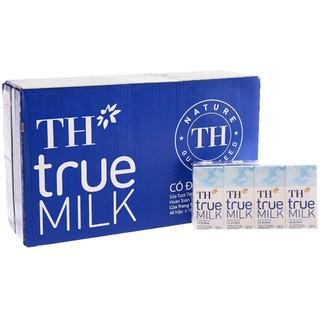 Sữa tươi tiệt trùng TH True Milk có đường, 110ml (thùng 48 hộp)