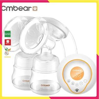 Máy hút sữa điện đôi CMBEAR cao cấp có 9 chế độ hút matxa cực êm