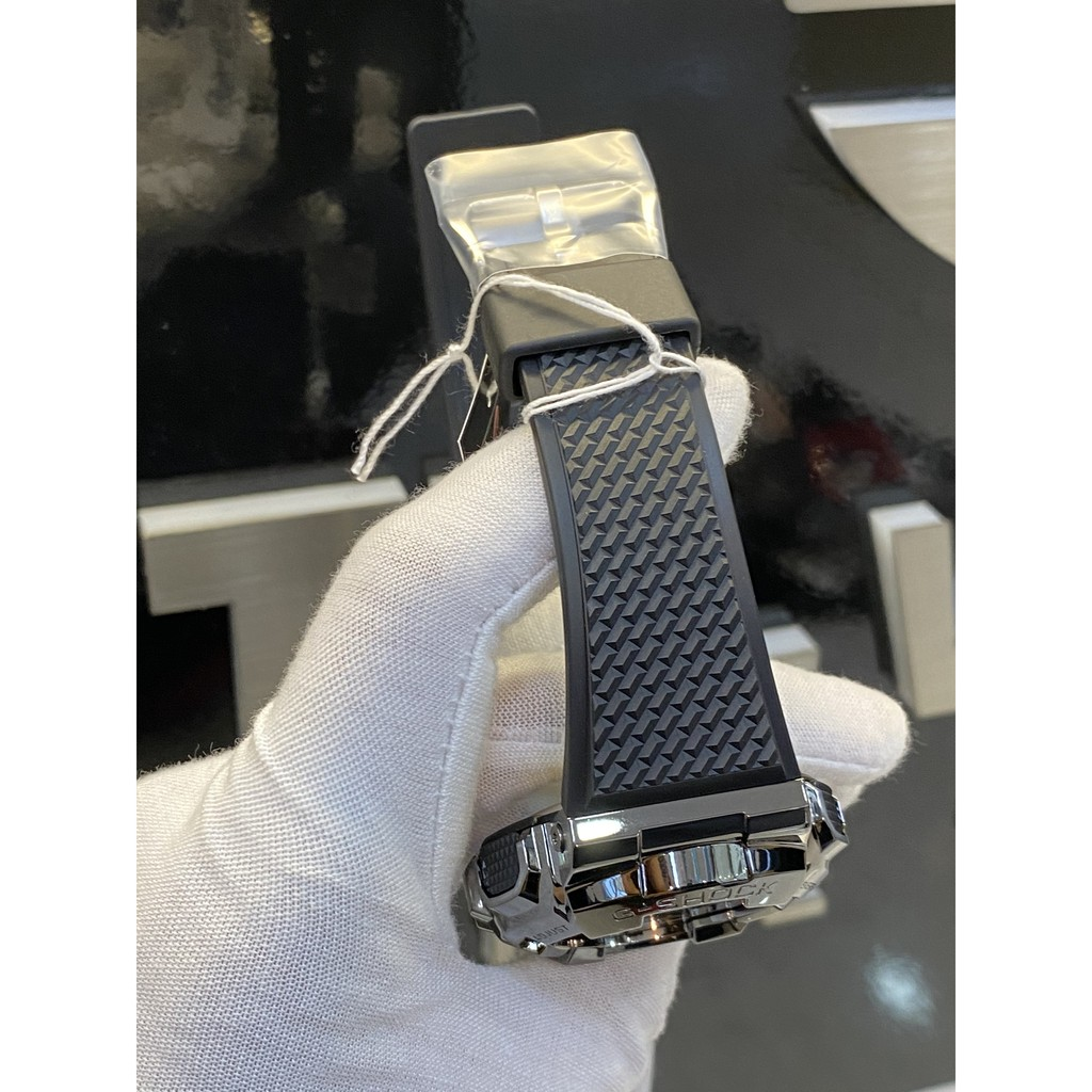 Đồng hồ nam Casio G-Shock GM-110B-1ADR chính hãng   G-Shock GM-110B-1A Metallic Beze