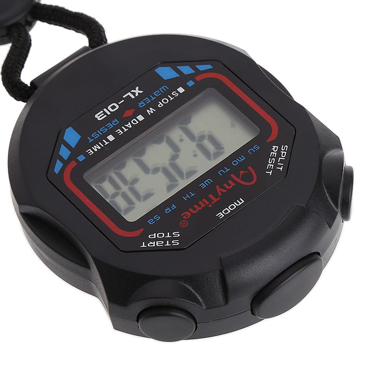 Đồng hồ bấm giờ điện tử cầm tay có màn hình LCD