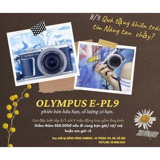 MÁY ẢNH OLYMPUS EPL9 (BLUE)