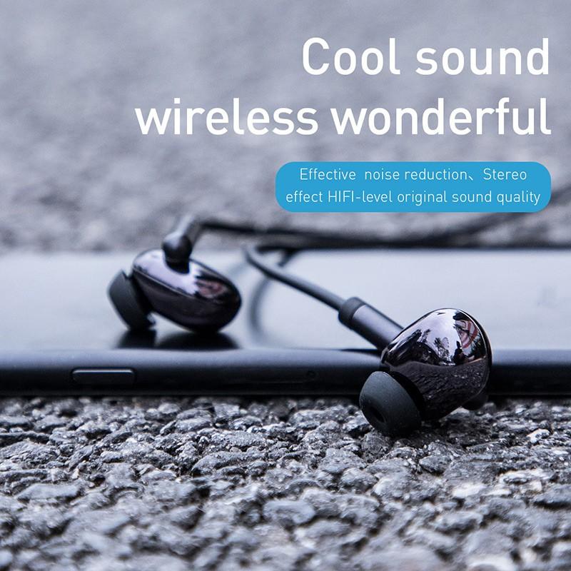 Baseus S30 Tai nghe Bluetooth không dây 5.0 IPX5 chống nước mic 3D Stereo Bass