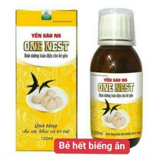 Siro Yến Sào One Nest mẫu mới chính hãng