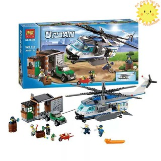 Lego City 60046 Trực Thăng Giám Sát Bela 10423 Helicopter Surveillance