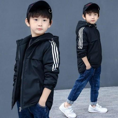 áo khoác gió bé trai , áo gió cho bé từ 5 đến 14 tuổi D502
