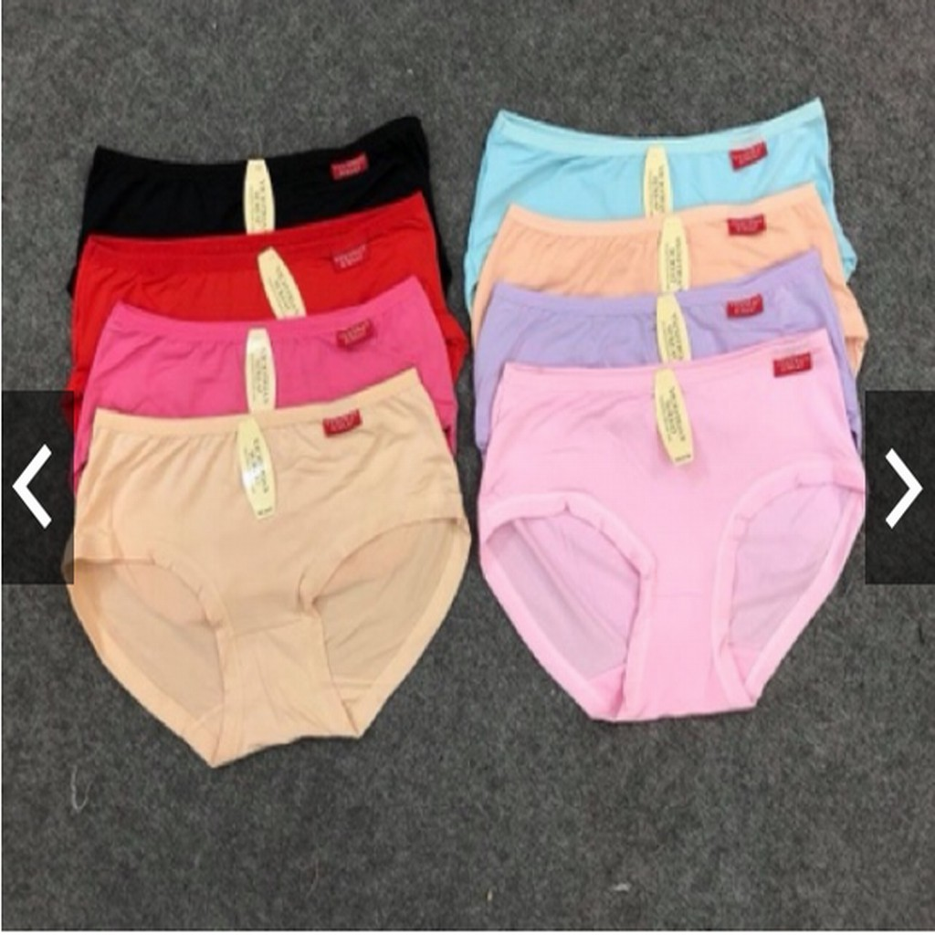 [quần lót] 10 quần lót cotton nữ trơn, quần lót điều hoà, quần lót ren,quần lót điều hòa, quần su, quần chip siêu đẹp