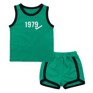 [Mã KIDMALL12 hoàn 15% xu đơn 150K] Set bộ quần áo ba lỗ số 1979 VEMZKIDS cho bé trai bé gái thumbnail