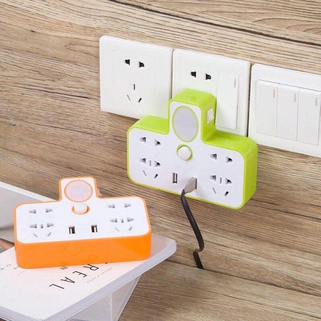 Ổ CẮM ĐIỆN ĐA NĂNG KIÊM ĐÈN NGỦ CÓ CỔNG USB SẠC ĐIỆN THOẠI ở nhà chán -  Khác