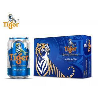 Thùng 24lon bia tiger 330ml – bao bì Tết