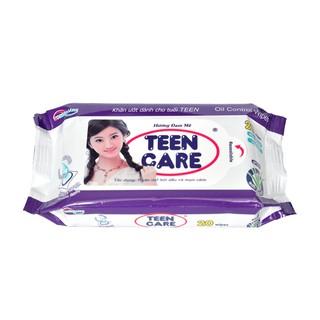 Combo 10 gói Khăn ướt Teen Care gói 20 tờ