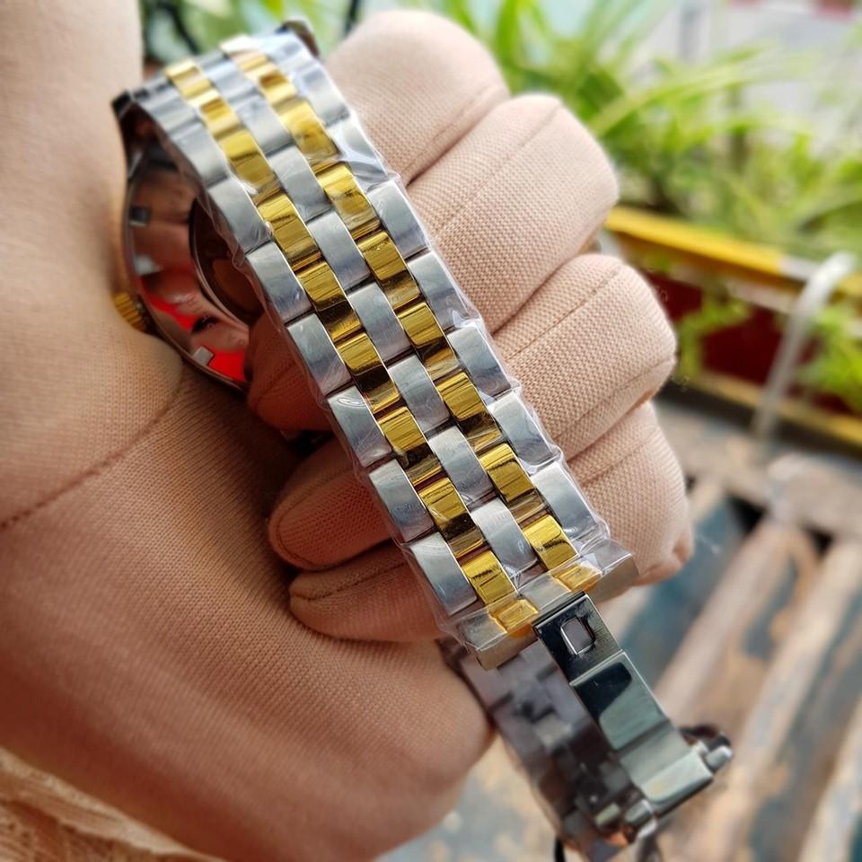 Đồng hồ nam dây kim loại Automatic Olym Pianus OP99141-77 OP99141-77AGSK đen