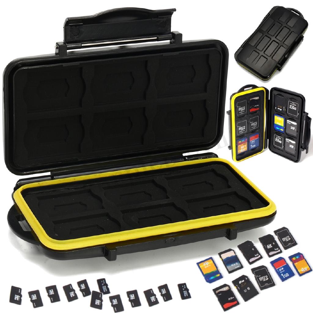 Hộp đựng thẻ nhớ 12 SD & 12 Micro SD / TF chống sốc - 13686829 , 1512028088 , 322_1512028088 , 75491 , Hop-dung-the-nho-12-SD-12-Micro-SD--TF-chong-soc-322_1512028088 , shopee.vn , Hộp đựng thẻ nhớ 12 SD & 12 Micro SD / TF chống sốc