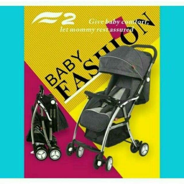 Xe Đẩy Trẻ Em Cao Cấp Gấp Gọn Baby