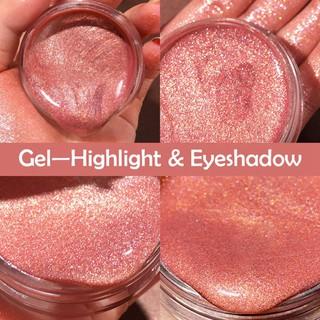 Gel trang điểm mắt màu bền lâu trôi hiệu ứng ánh kim độc đáo nhiều màu sắc để lựa chọn