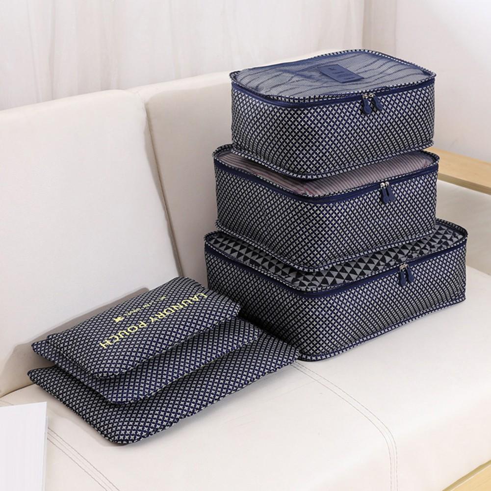 FW🌈6 Cái lưu trữ thời trang Container Quần áo du lịch Tổ chức túi trường hợp