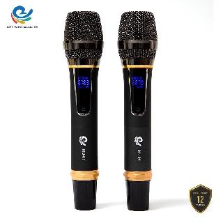 Micro Karaoke, Micro Không Dây (2 Mic), Chuyên Dụng Cho Loa, Amply, Đổi Mới Trong 07 Ngày, bảo hành 12 tháng. thumbnail