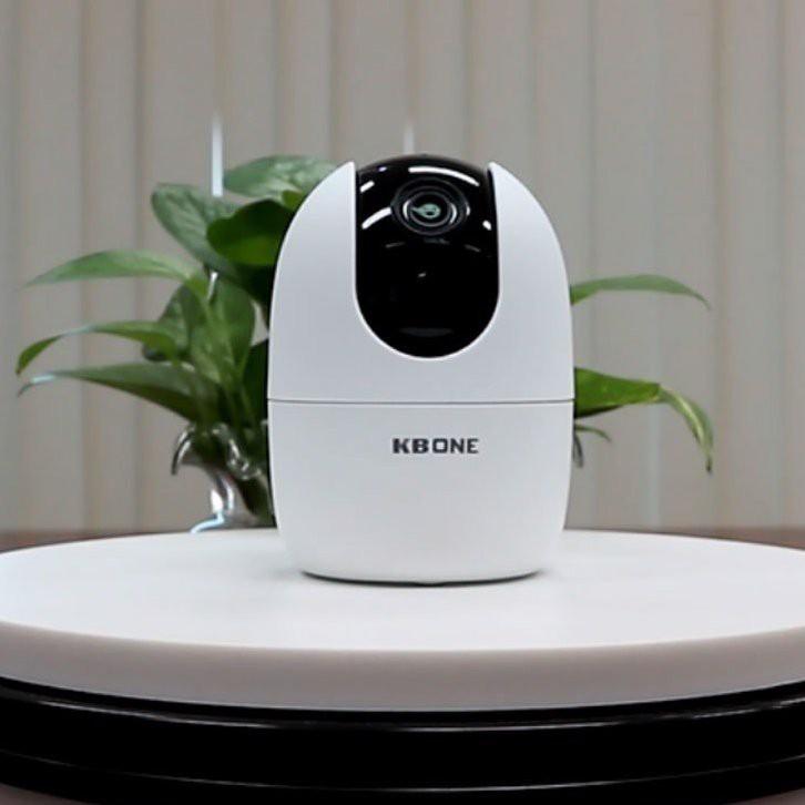 Camera Wifi KBONE KN-H21PA Xoay 360 độ, Full HD 1080p, phát hiện chuyển động, đàm thoại 2 chiều – HÀNG CHÍNH HÃNG