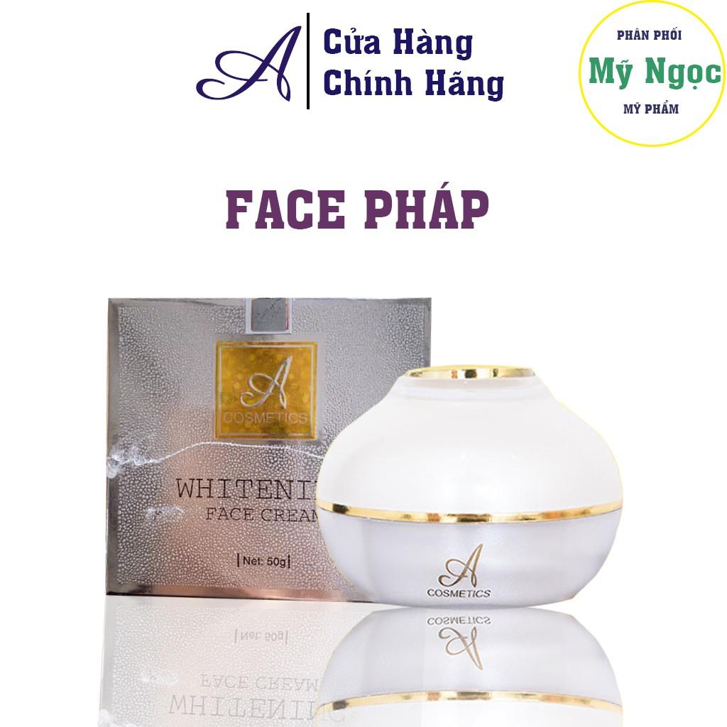 Kem Dưỡng Da, Face Pháp Acosmetics, chuyên trị mụn, thâm, nám, tàn nhang, cung cấp collagen giúp da trắng sáng