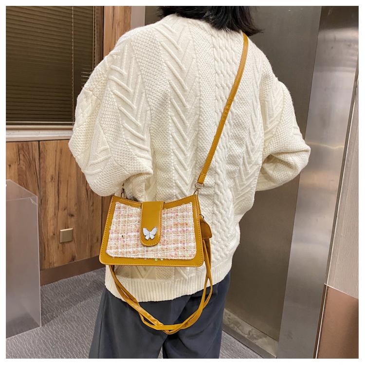 Túi Đeo Vai JASMIN NOIR Thiết Kế Thời Trang Đính Mặt Bướm Nữ Tính Cho Phái Nữ