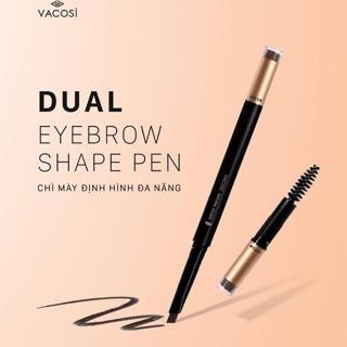(date 03 21)Chì kẻ mày 3 đầu Vacosi Dual Eyebrow Shape Pen. thumbnail