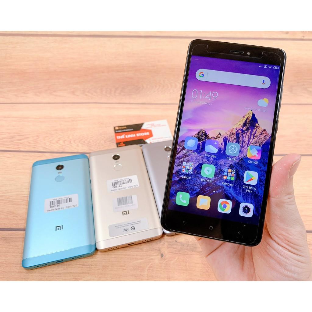 Điện thoại Xiaomi Redmi Note 4X nguyên hộp - MIUI 11 tiếng Việt