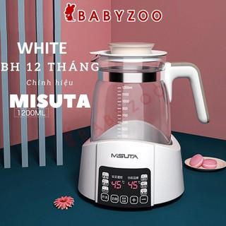 Bình đun nước pha sữa Misuta làm ấm nước pha sữa điều chỉnh nhiệt độ dùng cho trẻ sơ sinh, Đồ sơ sinh Babyzoo