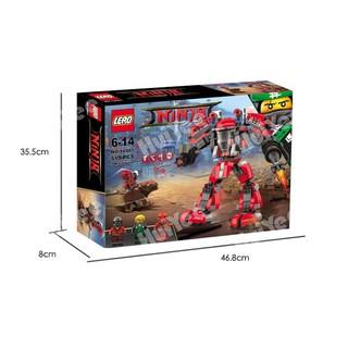 Đồ chơi lego lắp ghép 519 chi tiết Hv9382