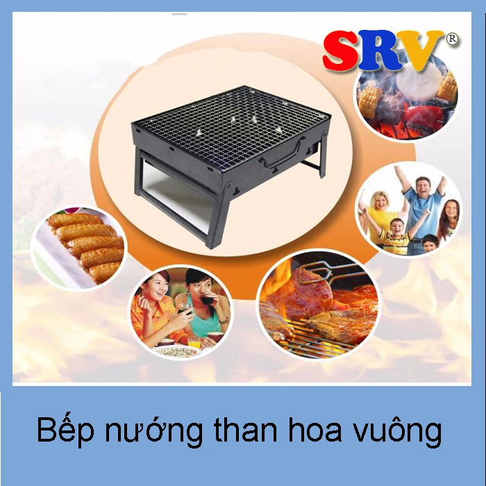Bếp nướng Than Hoa Portable Stainless