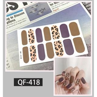 Sticker trang trí móng kháng nước lâu trôi phong cách Âu Mỹ có thể dùng cho phụ nữ mang thai thumbnail