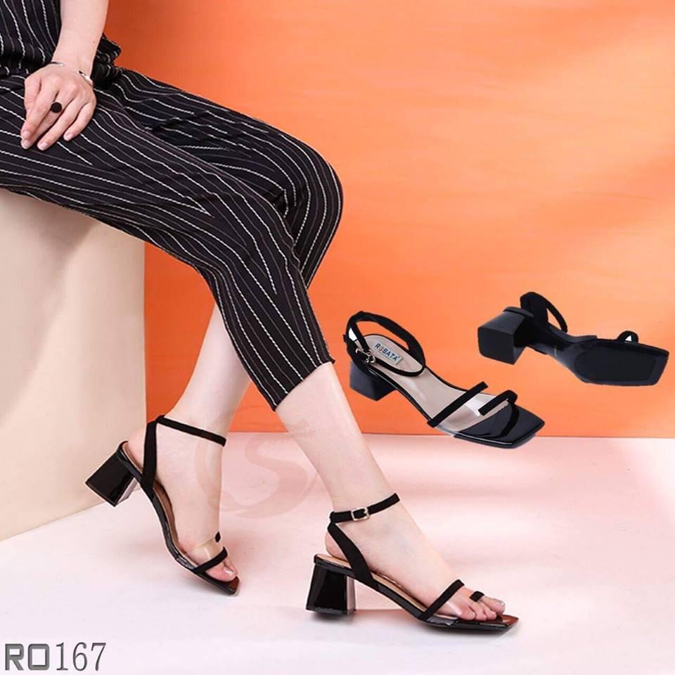 Giày sandal nữ đẹp Rosata trẻ trung RO167