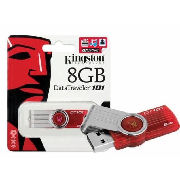 USB Kingston 8G 2.0 DT101 Chính Hãng - GIÁ RẺ