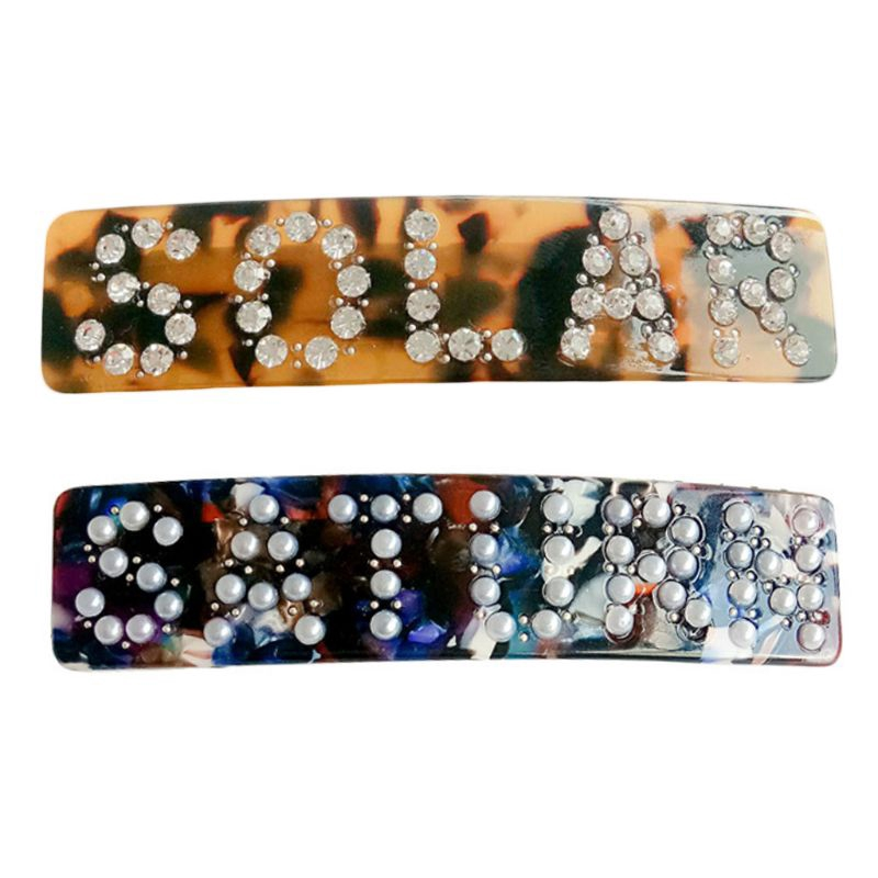 Women Retro Leopard Acetate Spring Hair Clip Imitation Pearl Rhinestone Letters Rectangle Spring - 14539505 , 2616578412 , 322_2616578412 , 56239 , Women-Retro-Leopard-Acetate-Spring-Hair-Clip-Imitation-Pearl-Rhinestone-Letters-Rectangle-Spring-322_2616578412 , shopee.vn , Women Retro Leopard Acetate Spring Hair Clip Imitation Pearl Rhinestone Let