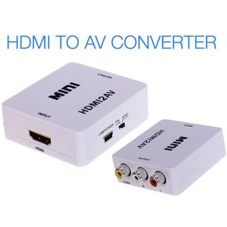 BỘ CHUYỂN HDMI RA AV (RCA) FULL HD 1080P